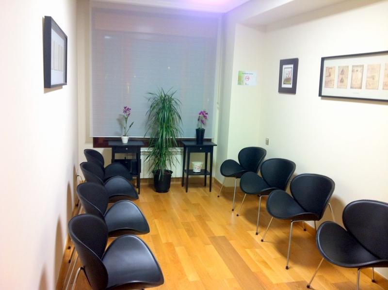 Sala de espera consulta